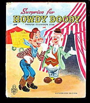 Surprise For Howdy Doody 1951 Tell A Tale Book