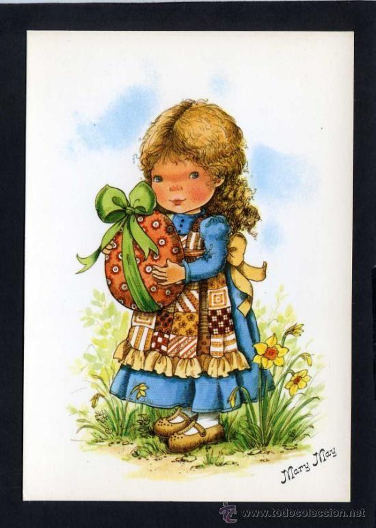 Ilustrador *Mary May* Ed. Pagsa serie 452 nº 1. Nueva. (Postales - Dibujos y Caricaturas)