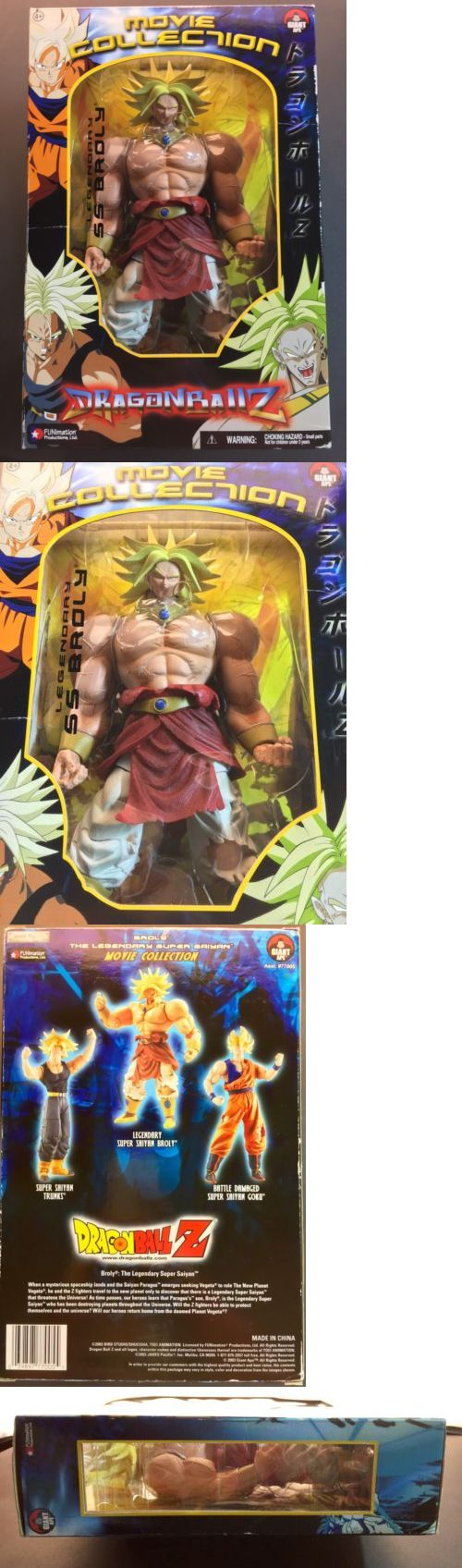 DragonBall Z 7117: Dragonball Z Movie Collection Legendary Ss Broly Super Saiyan Broly Figure New -> BUY IT NOW ONLY: $119 on eBay!