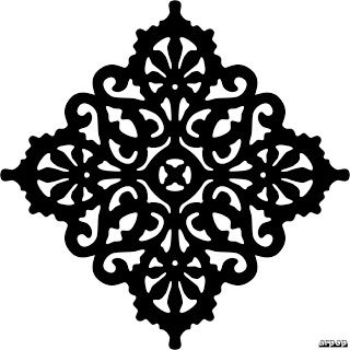 Free Scroll Saw Fretwork Patterns | Victorian Trivet Pattern