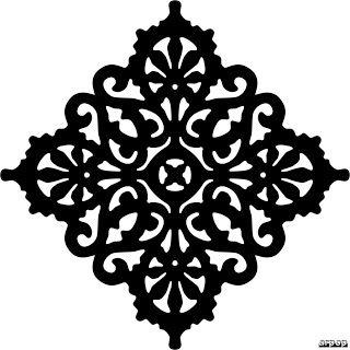 Free Scroll Saw Fretwork Patterns   Victorian Trivet Pattern