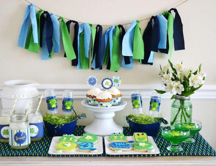 46 besten frog party ideas bilder auf pinterest fr sche geburtstagspartys und geburtstagsideen. Black Bedroom Furniture Sets. Home Design Ideas