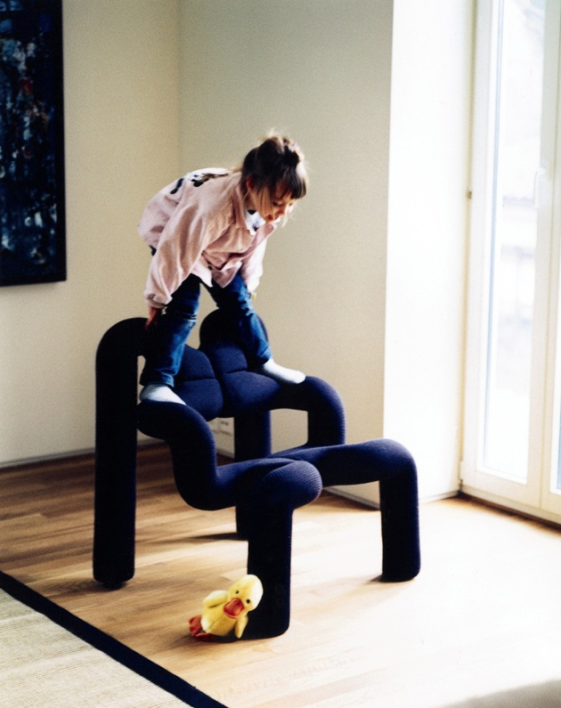 The Ekstrem chair by Norwegian furniture designer Terje Ekstrøm