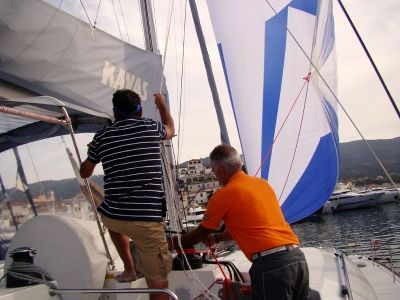 Sailing in Greece...! Preparation & check in of the vessel before departure