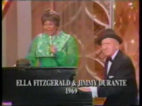"Ella Fitzgerald & Jimmy Durante sing ""Bill Bailey"""
