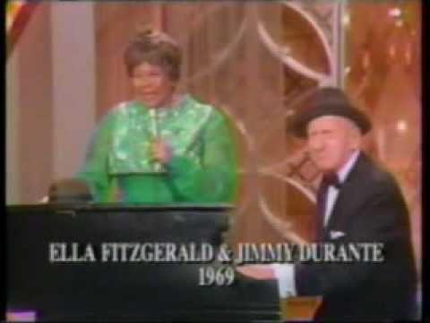 """Ella Fitzgerald & Jimmy Durante sing """"Bill Bailey"""""""