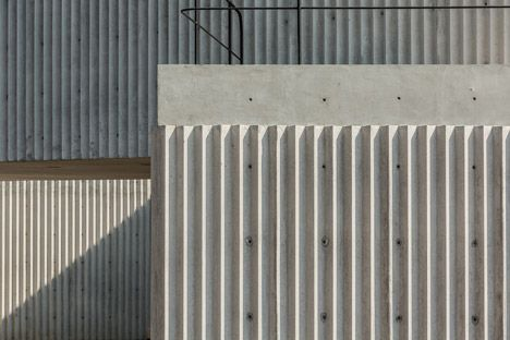 Cherem Arquitectos completes corrugated concrete house in Mexico