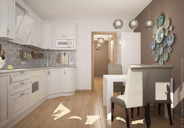 Дизайн двухкомнатной квартиры на Бескудниковском бульваре