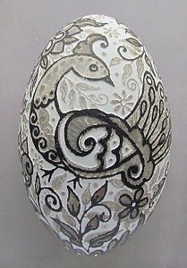 Pysanka-Real-Ukrainian-Easter-Egg-Emu-Ostrich-Rhea-Shell-Etched-Design-2