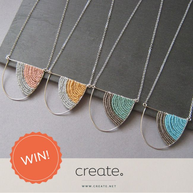 #WIN a beautiful geometric silver curve necklace from jewellery designer, Judith Brown with this week's #FreebieFriday! Enter over on the Create Facebook page. www.facebook.com/create