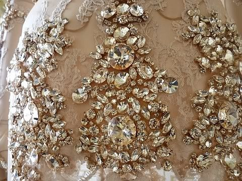 jeweled embroidery