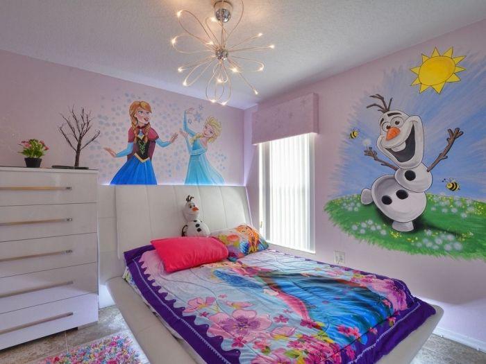 1001 astuces et conseils pour cr er la chambre reine des neiges parfaite reine des neiges. Black Bedroom Furniture Sets. Home Design Ideas