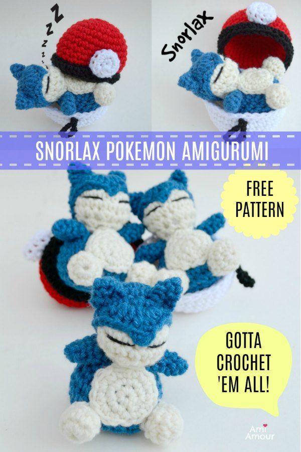 Crocheted Plush Pokémon Characters With Insane Detail | Tricot et crochet,  Confection au crochet, Poupées en crochet | 900x600