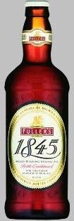 Cerveja Fuller's 1845, estilo Old Ale, produzida por Fuller's, Inglaterra. 6.3% ABV de álcool.