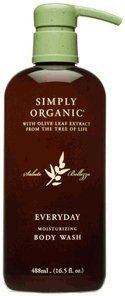 Simply Organic Everyday Moisturizing Body Wash, 16.5 oz by Simply Organic. $20.00. Sulfate Free. Paraben Free. Color Safe. Eco Friendly. Organic. Simply Organic Everyday Moisturizing Body Wash This gentle cleansing formula moisturizes and softens the skin without the use of harsh surfactants or fragrances. Use: Apply daily to body for refreshingly clean and moisturized skin. Follow with Moisturizing Body Lotion.