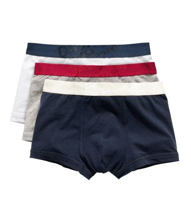David Beckham Bodywear. Boxer shorts 3 pack £19.99.