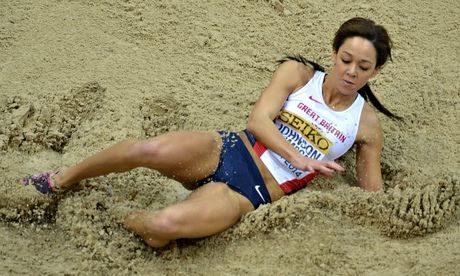 Katarina Johnson-Thompson wins surprise silver medal in long jump