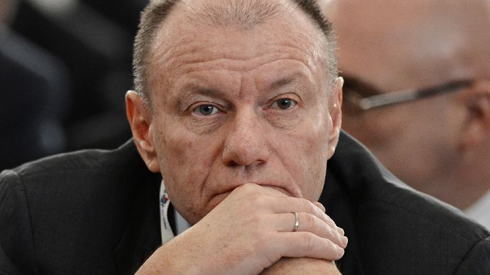 Sanctions effect is shrinking - Russia's richest businessman Vladimir Potanin http://pronewsonline.com Norilsk Nickel General Director and Board Chairman Vladimir Potanin (RIA Novosti / Ramil Sitdikov)