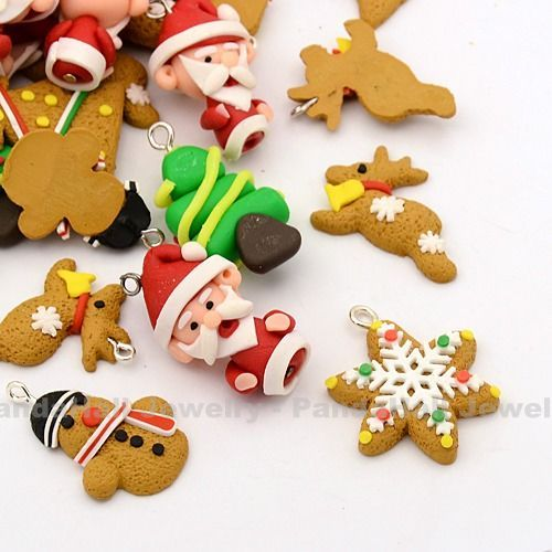 fimo christmas baubles - Google Search