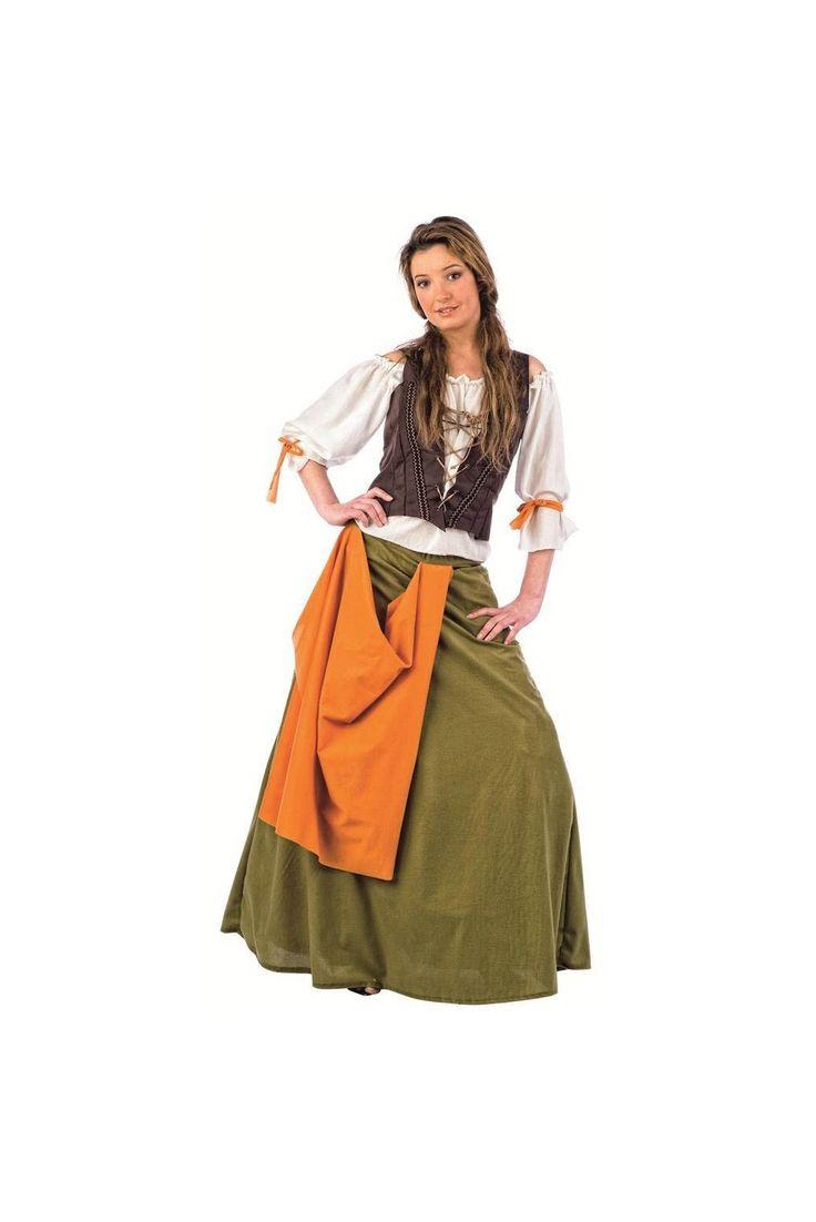 Disfraz Medieval de Tabernera Agnes                                                                                                                                                                                 Más