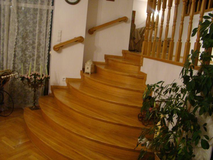 schody dębowe wykonane przez Stolarstwo Szudera www.stolarstwoszudera.pl