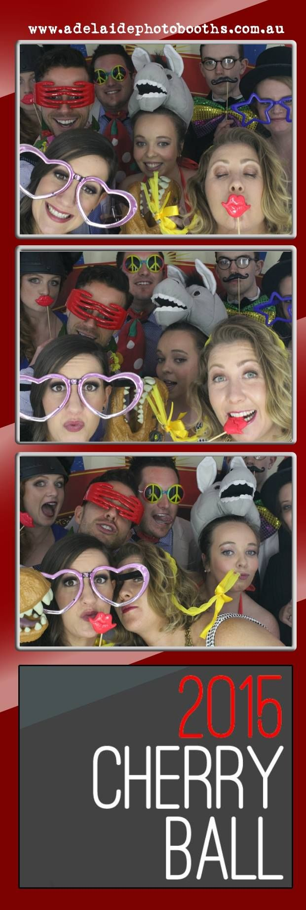 #cherryball2015 #adelaidephotobooths #photoboothsadelaide #ohsnap #3'sacrowd