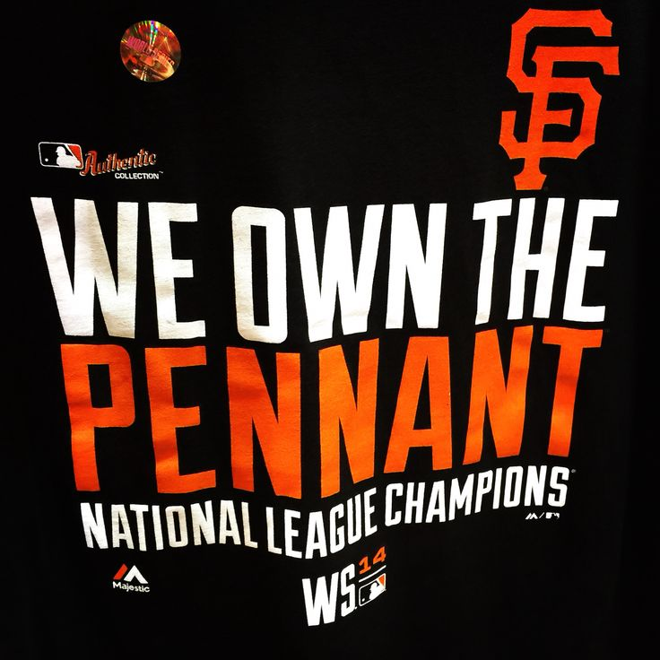 and now, onto to the World Series...AGAIN!  GO GIANTS!!!