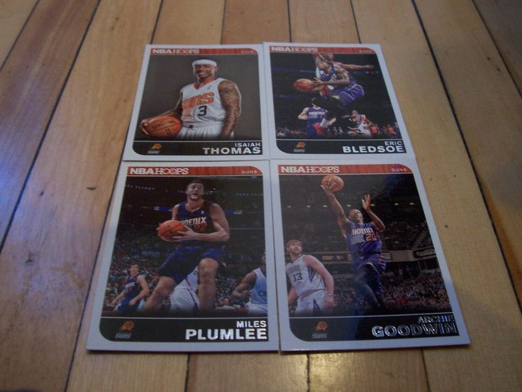 ARCHIE GOODWIN MILES PLUMLEE ERIC BLEDSOE ISAIAH THOMAS 2014-15 Hoops Suns Lot