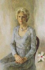 Wyeth Hurd painted the official White House portrait of U.S. First Lady Pat Nixon[1] in 1978