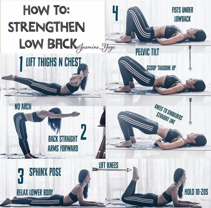 How to Strengthen the Lower Back Pictorial