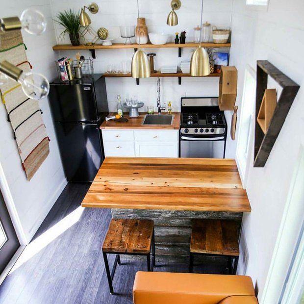 Полный вид кухни 7 кв метров