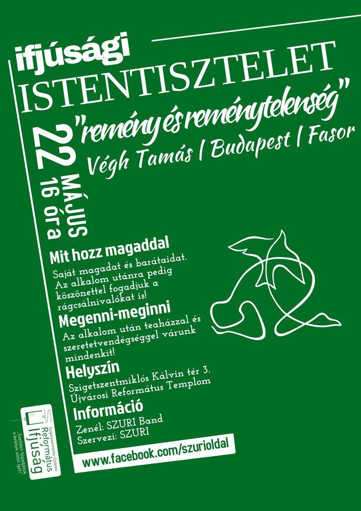 Saját plakátok    IFIS IStentisztelet - Remény és reménytelenség  []  My posters, event flyers    Youth worship - Hope and hopeless
