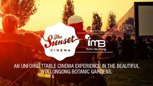 Sunset Cinema Wollongong Botanic Gardens