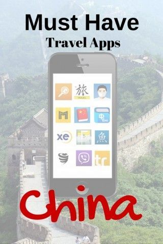 Must Have travel apps for chinach