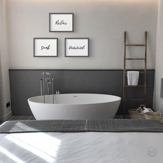 Printable Bathroom Signs Relax Soak Unwind Bathroom Art Etsy Bath Wall Art Printable Bathroom Signs Relax Soak Unwind