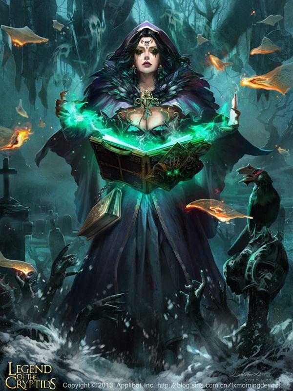 30 Mind Blowing Fantasy Artworks   Cuded Grimoire Fanatic Chantelle2