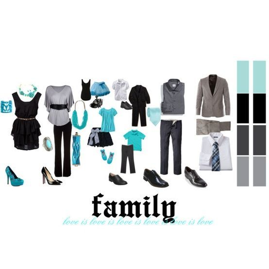 outfit ideas for family pictures in summer | Chanels Blog: Christmas Sessions Cl