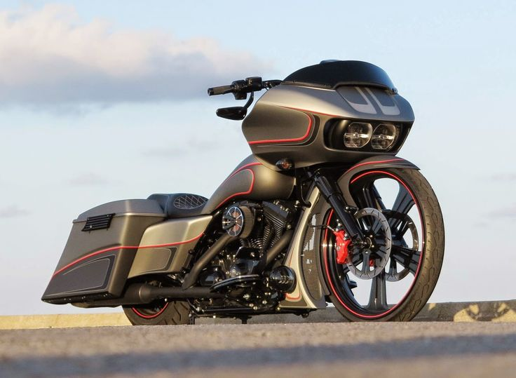 "Racing Cafè: Harley Road Glide ""Edition 1"" by Rick's Motorcycles"