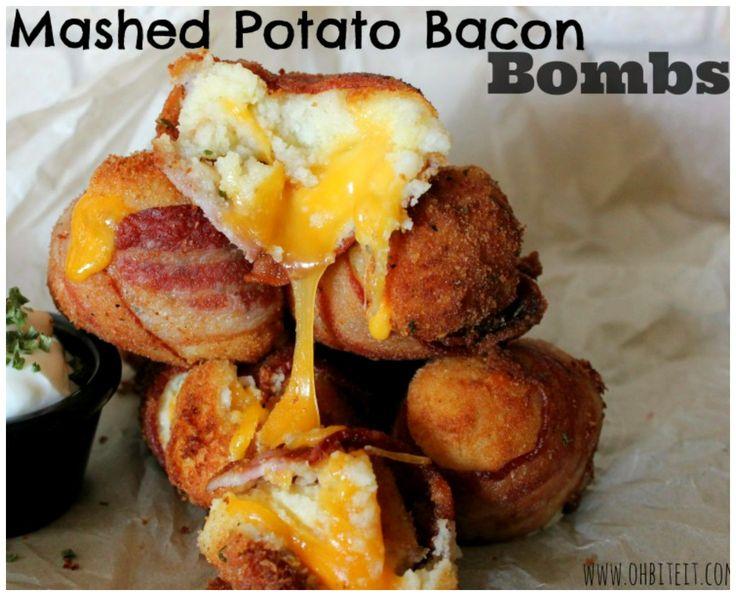 ~Mashed Potato Bacon Bombs!