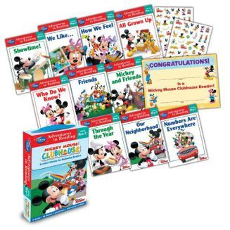 Reading Adventures Mickey Mouse Clubhouse Level Pre-1 Boxed Set