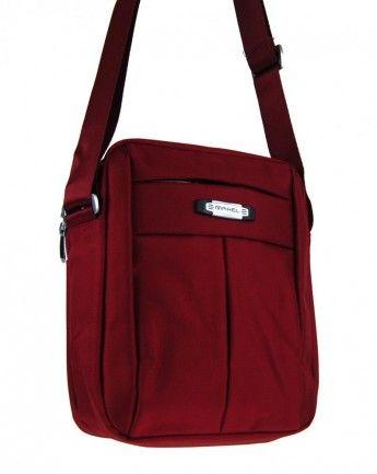 Pánská crossbody taška Mahel 8812-2 červená - Kliknutím zobrazíte detail obrázku.