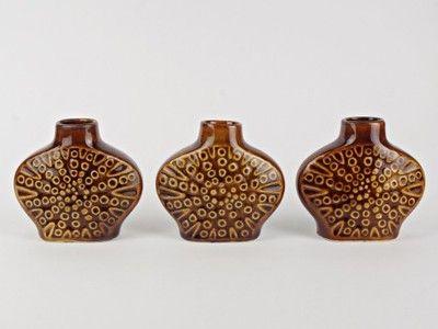 Trzy wazoniki Mirostowice, New Look lata 70-te (6913088505) - Allegro.pl - Więcej niż aukcje.