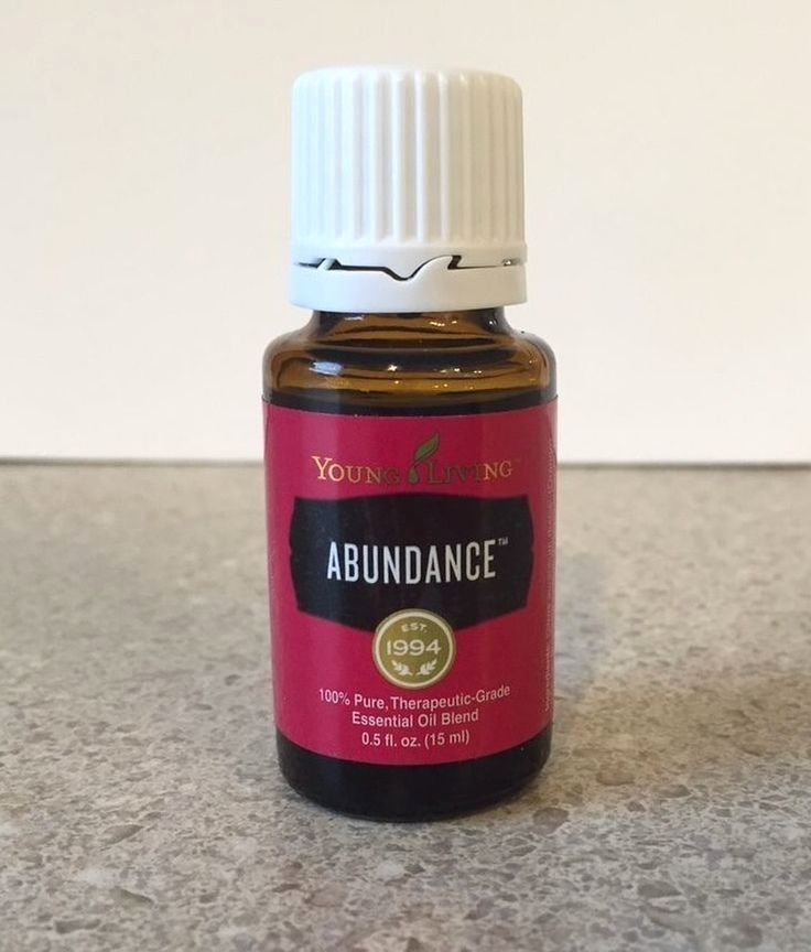 Young Living ABUNDANCE 15ML Essential Oil:Ginger,Myrrh,Cinnamon,Frankincense #YoungLivingEssentialOils