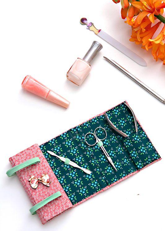 Kit manicure: artesanato para presentear as mulheres - Portal de Artesanato - O…