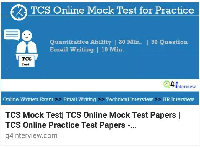 Take TCS Mock Test  --------------------------  Email writing: http://q4interview.com/latest-email-writing-questions-with-answers.php  Technical Interview: http://q4interview.com/technical_interview.php  HR Interview: http://q4interview.com/hr_ques_ans.php  #freshers #placementpapers #jobseekers #jobs #freshersworld #onlinemocktest