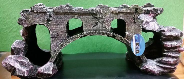 87 best aquariums decor castles medievil images on pinterest for Aquarium bridge decoration