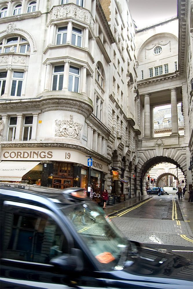 Air Street - Piccadilly. First appeared on ratebooks in 1658 - probably named after local brewer, Thomas Ayres, who held the leases.