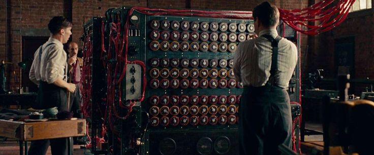 Alan Turning (Benedict Cumberbatch) in Immitation Game (2014)