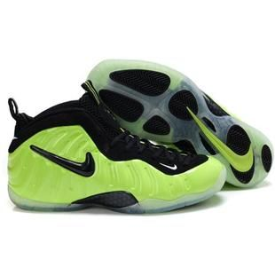 Nike Air Foamposite Pro Electric Green Black