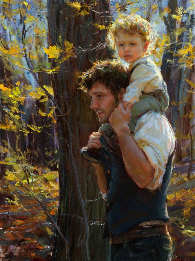 Daniel F. Gerhartz --- a modern day master of oils!  His work is simply amazing.